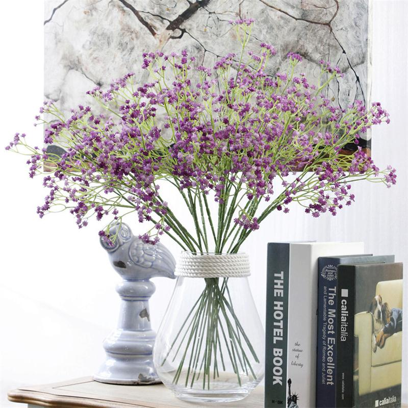 Artificial Gypsophila Baby Breath Fake Silk Flowers