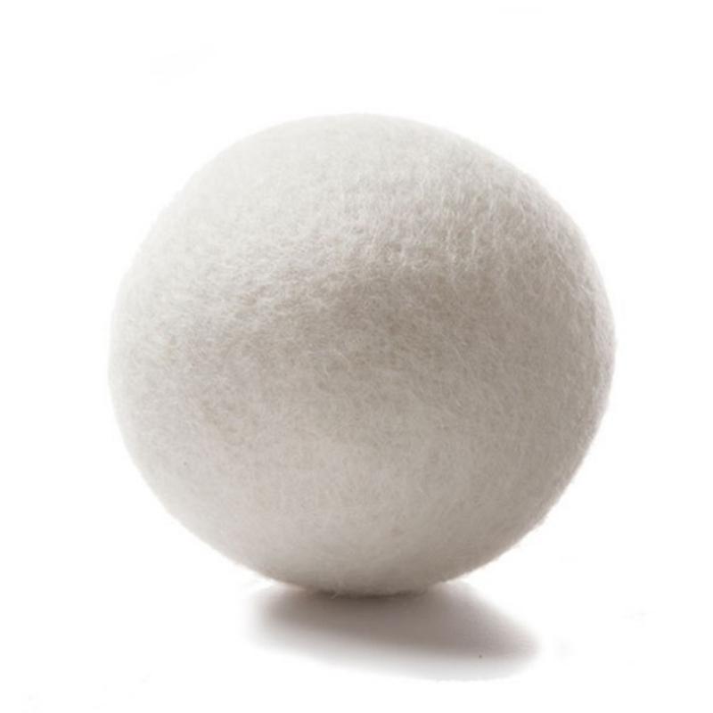 6Pack-Natural-Fabric-Softener-Wool-Dryer-Balls-Reusable-Dryer-Balls-Laundry-Tool thumbnail 10