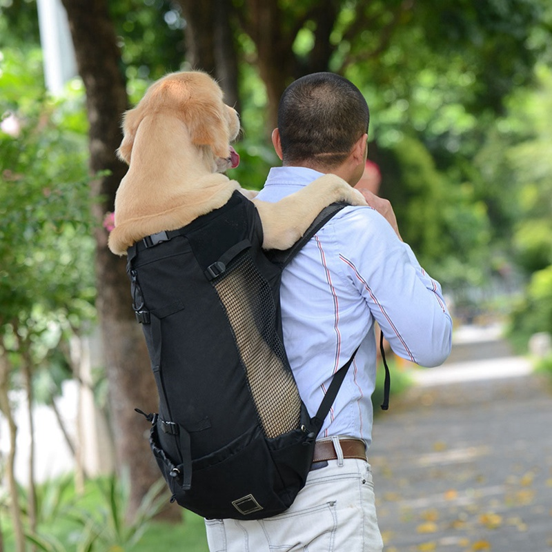 breathable cat dog carrier backpack pet puppy