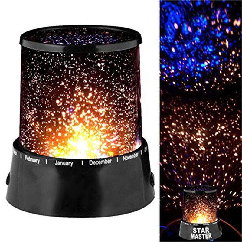LED Star Starry Sky Galaxy Projector Night Lamp Cosmos Light
