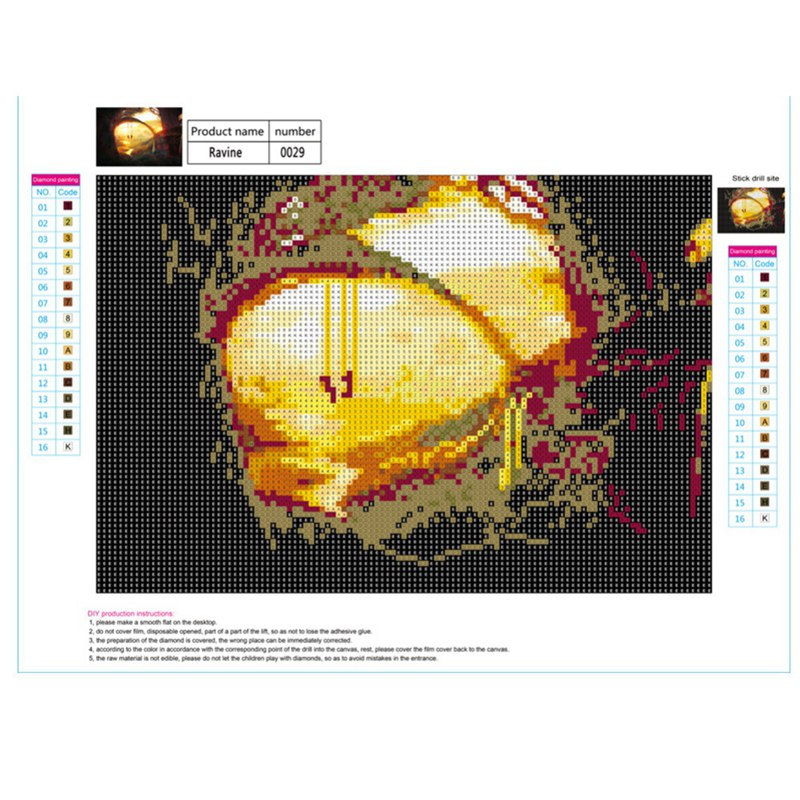 Full-Drill-DIY-5D-Diamond-Landscape-Painting-Embroidery-Crafts-Cross-Stitch-Kit thumbnail 14