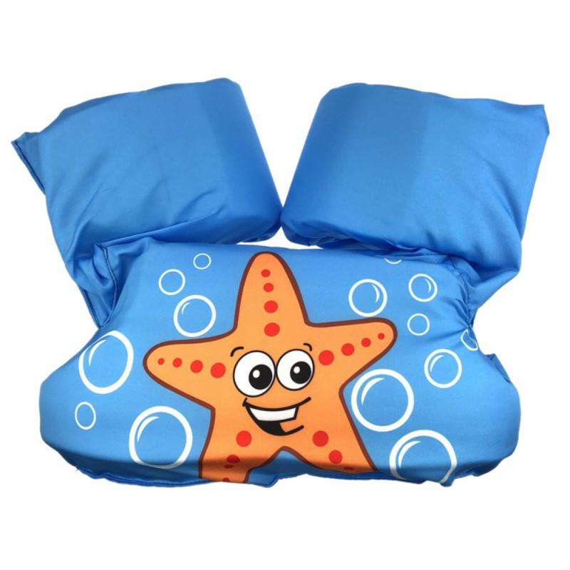 Toddler Kids Baby Basic Cartoon Life Jacket Floating Swim
