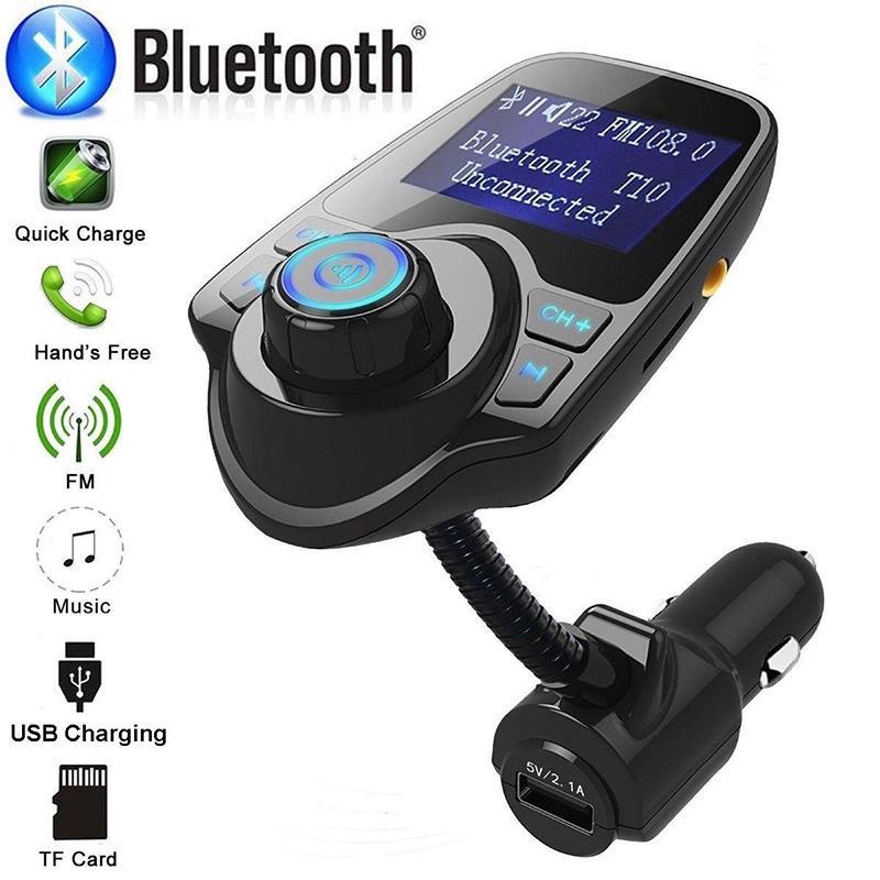 Bluetooth Wireless FM Transmitter InCar MP3 Radio Adapter Car Kit 2 USB Charger
