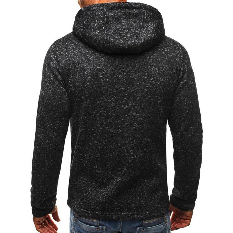 Mens-Slim-Hoodies-Sweatshirt-Zipper-Coat-Jacket-Winter-Jumper-Sweater-Outwear thumbnail 13