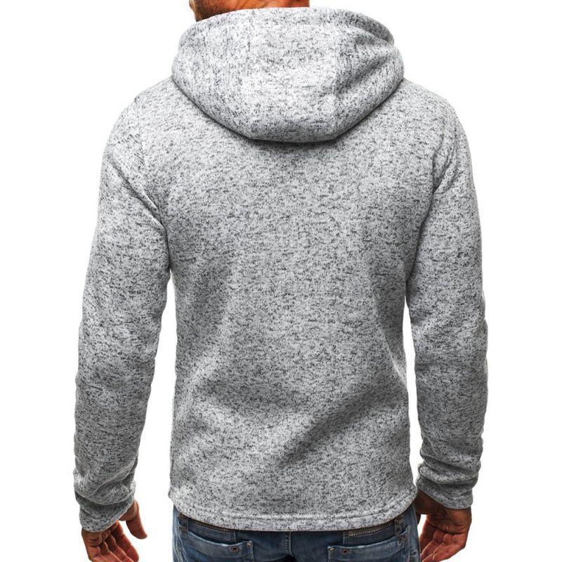 Mens-Slim-Hoodies-Sweatshirt-Zipper-Coat-Jacket-Winter-Jumper-Sweater-Outwear thumbnail 15
