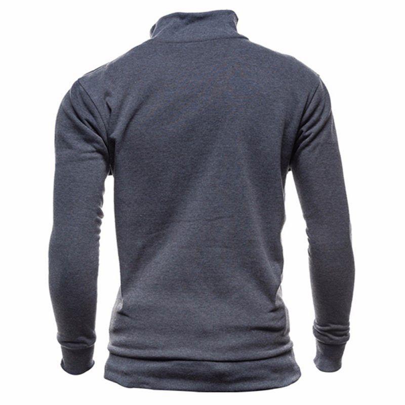 Mens-Slim-Hoodies-Sweatshirt-Zipper-Coat-Jacket-Winter-Jumper-Sweater-Outwear thumbnail 20