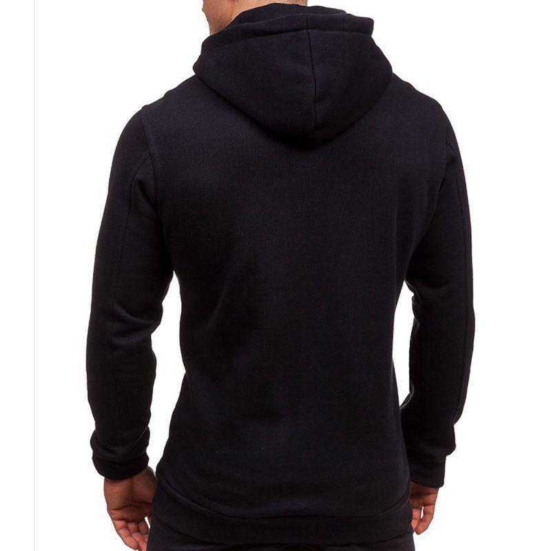 Mens-Slim-Hoodies-Sweatshirt-Zipper-Coat-Jacket-Winter-Jumper-Sweater-Outwear thumbnail 24