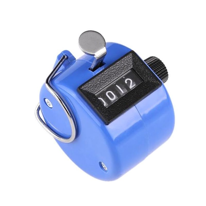 Hand-Tally-Counter-Mechanical-Portable-Manual-Clicker-Click-4-Digit-LCD-Counting thumbnail 14