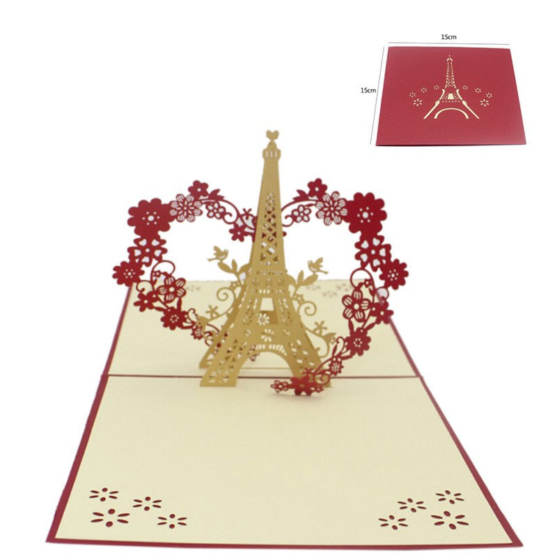 Birthday 3d Pop Up Greeting Cards Valentine Easter Anniversary