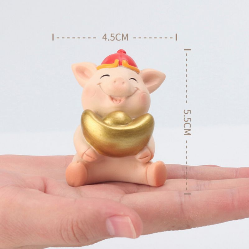 Year-Of-The-Pig-Auspicious-Decoration-New-Year-Cartoon-Resin-Desktop-Gift-Doll