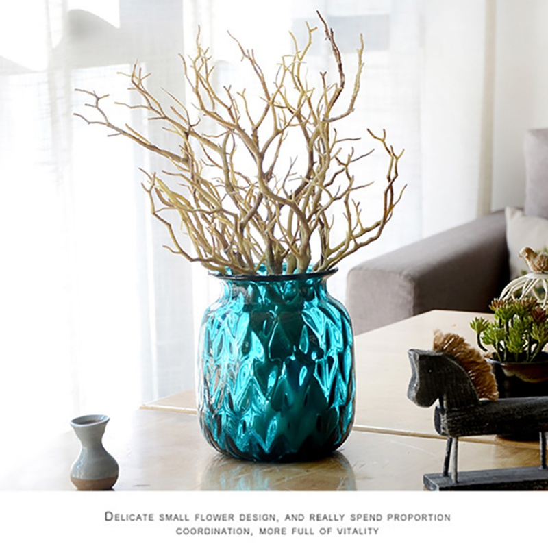 3pc Manzanita Artificial Fake Dry Plant Branch Foliage
