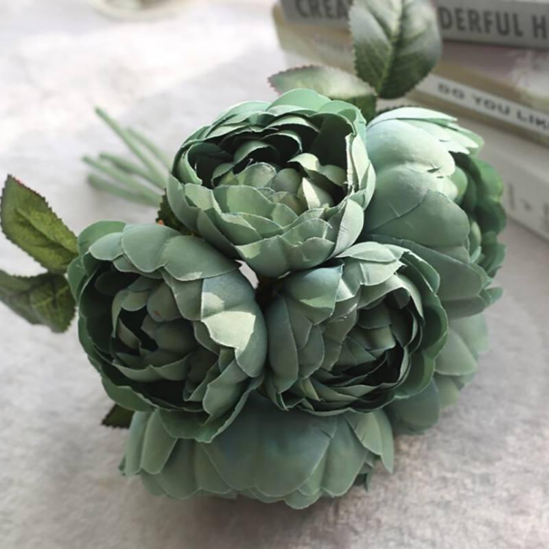 Artificial-Fake-Peony-Silk-Flower-Bridal-Party-Wedding-Shop-Home-Garden-Decor