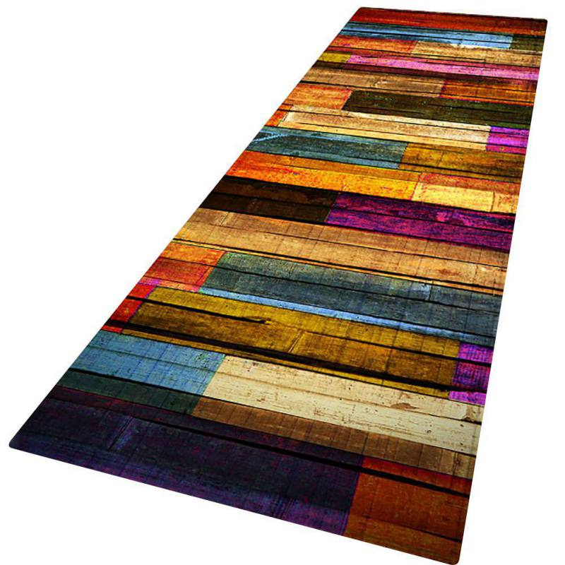 Non-slip-Door-Mat-Kitchen-Floor-Mat-3D-Print-Thick-Flannel-Bath-Area-Rug-Carpet thumbnail 10