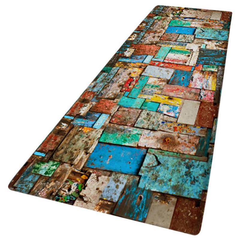 Non-slip-Door-Mat-Kitchen-Floor-Mat-3D-Print-Thick-Flannel-Bath-Area-Rug-Carpet thumbnail 11