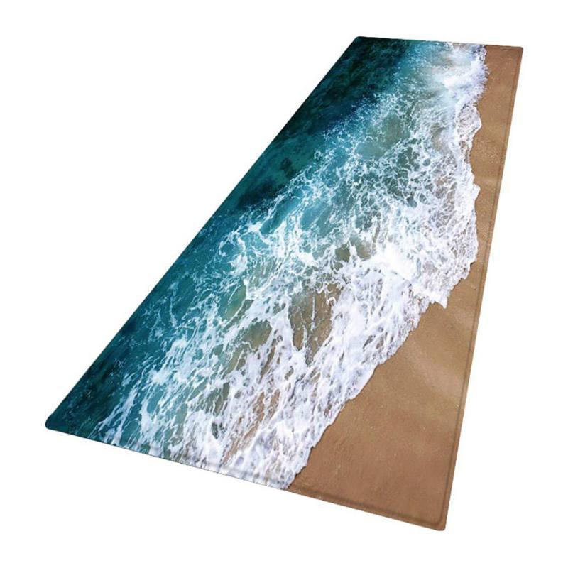Non-slip-Door-Mat-Kitchen-Floor-Mat-3D-Print-Thick-Flannel-Bath-Area-Rug-Carpet thumbnail 13