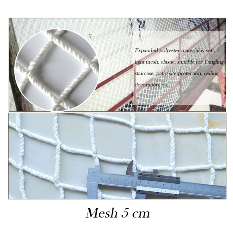 Safety Net Home Balcony Railing Stairs Fence Net Protection