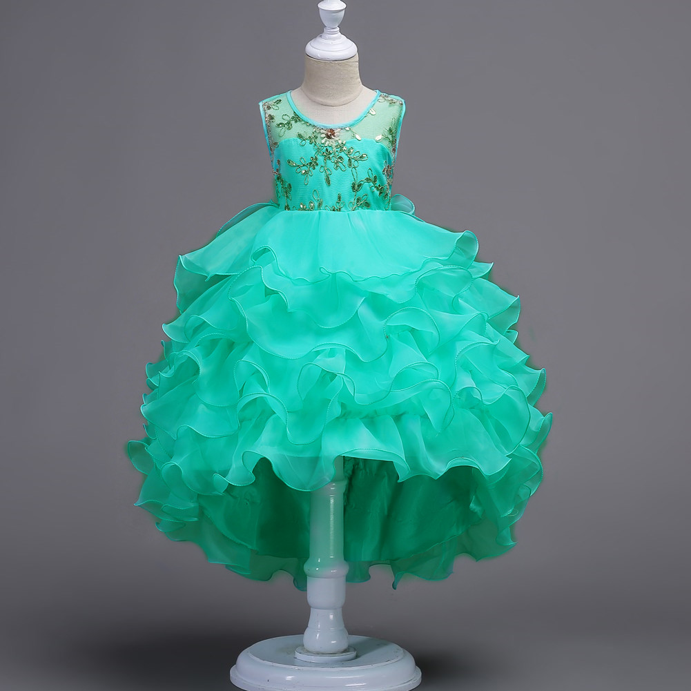 Flower Girls Princess Dresses Baby Kids Formal Party Wedding Pageant ...