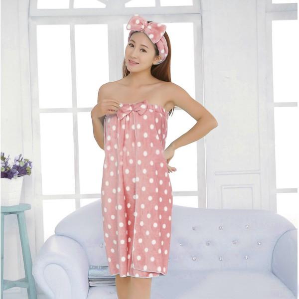 01684e4e61 Women S Microfiber Soft Shower Body Spa Bath Wrap Towel Bathrobe