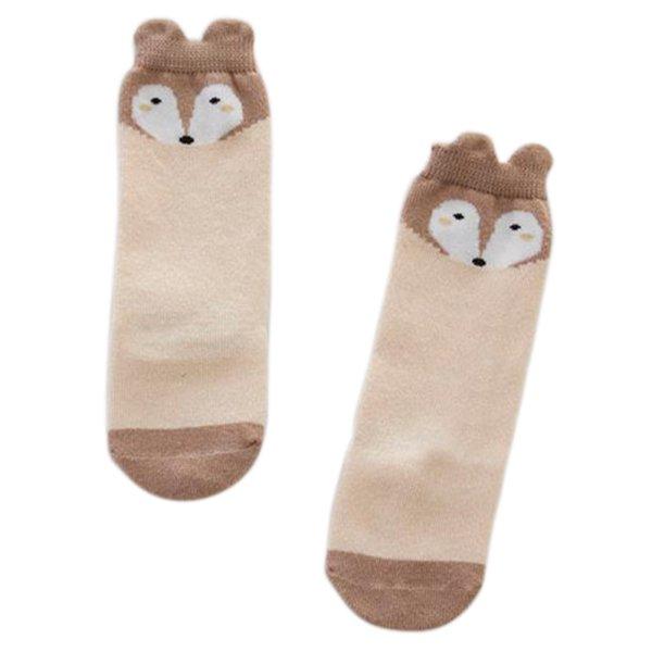 Infant Baby Kid Fox Knee High Socks Toddler Boy Girl