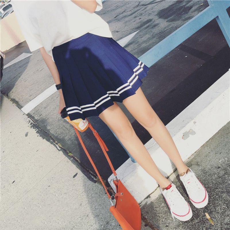 AU-Women-039-s-Tennis-High-Waist-Plaid-Skater-Flared-Pleated-Short-Mini-Skirt-Dress