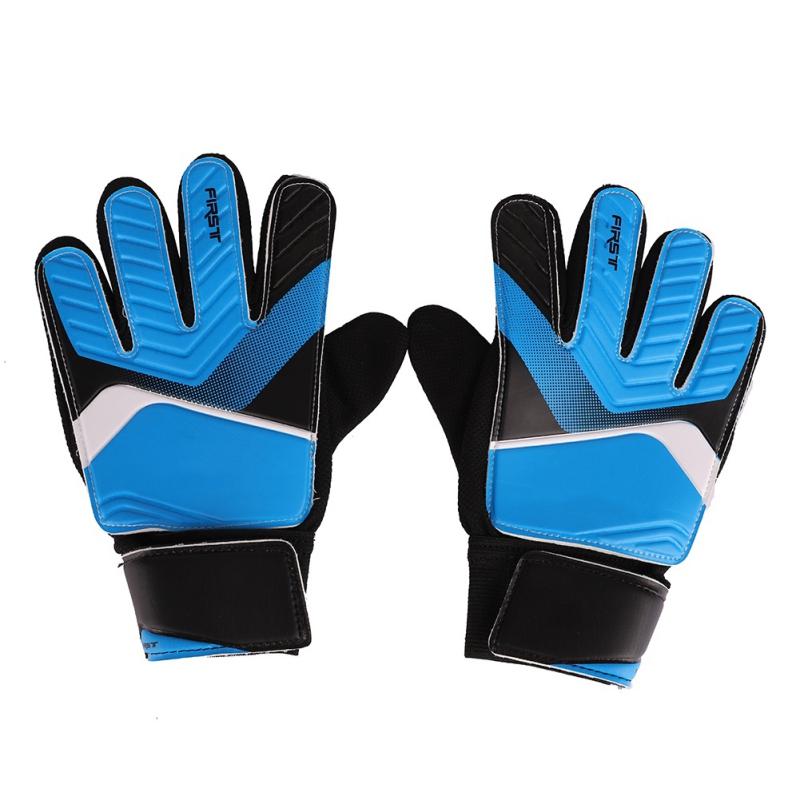 Kids-Youth-Football-Soccer-Sport-Goalkeeper-Gloves-Goalie-Glove-Finger-Protector