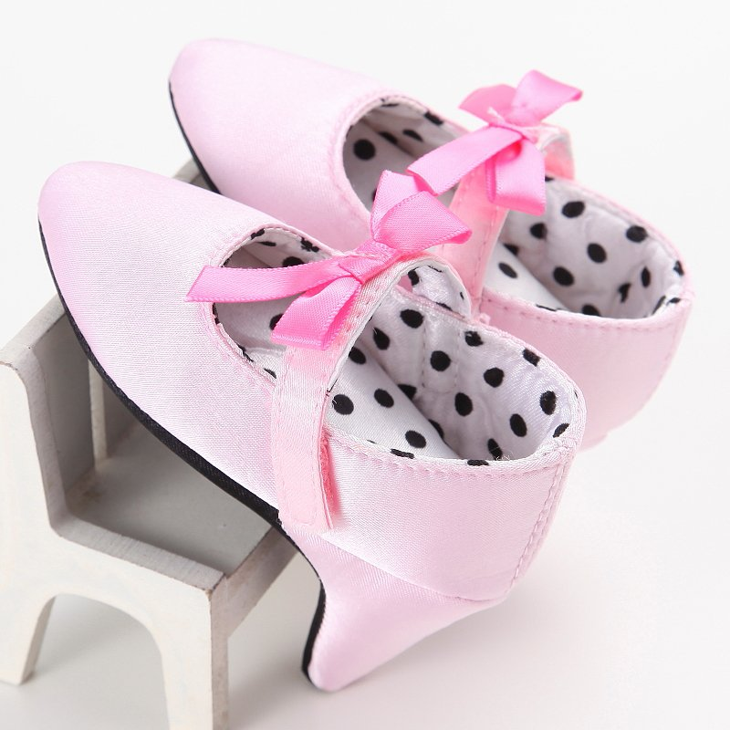 Infant Kid Baby Girl Formal High Heels Party Princess Shoes ...