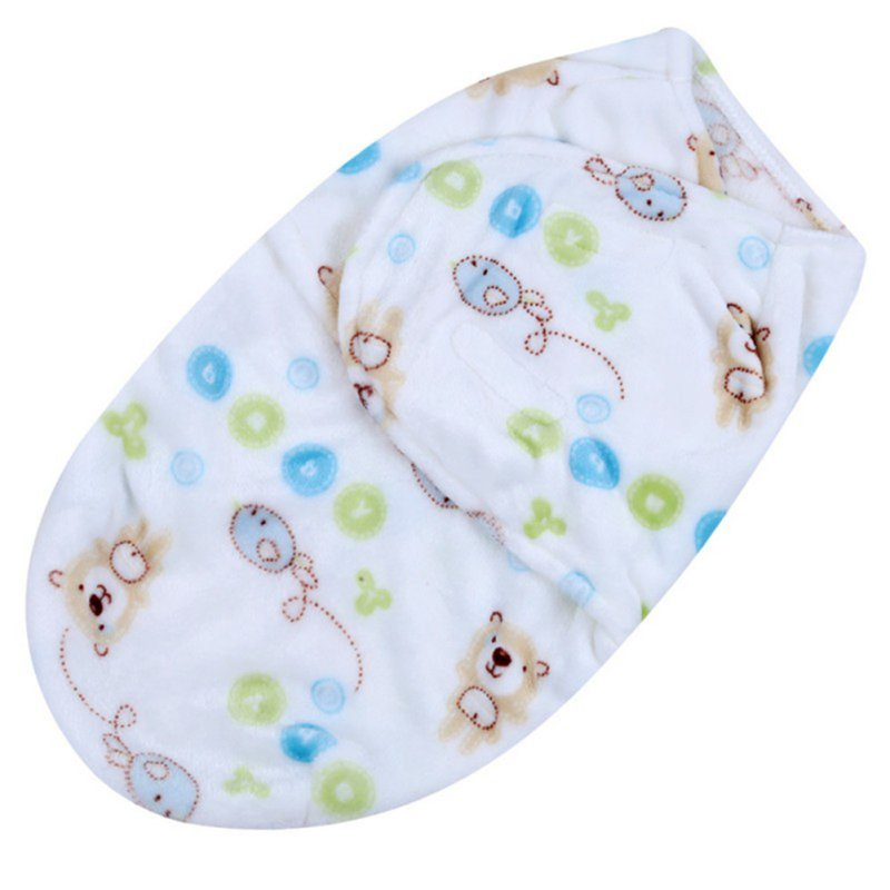 Newborn Infant Cotton Sleeping Bags Baby Kids Swaddling Wrap Sleep