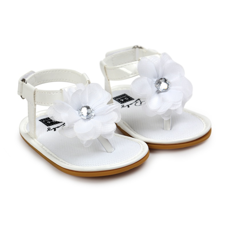 Cute Baby Kids Girl Flower Sandals Soft Sole Toddler