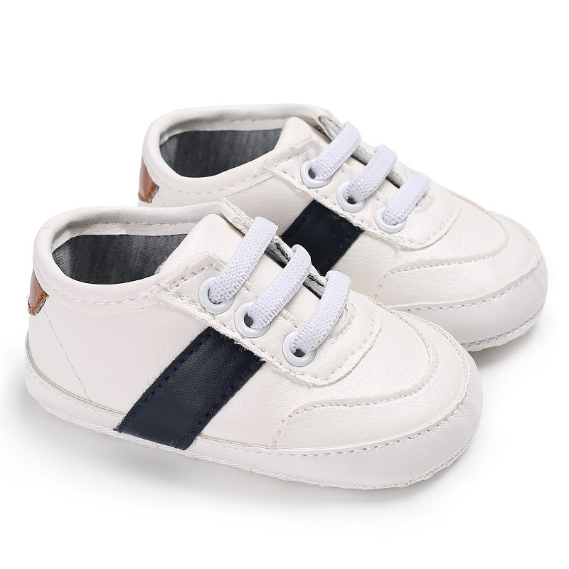 4b8c9169c4d 0-18m Baby Boys Girls PU Leather Soft Sole Crib Shoes Toddler ...