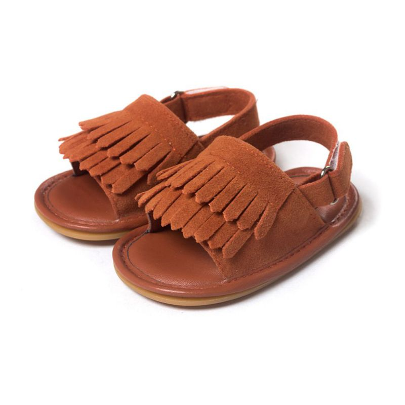 Soft Leather Crib Shoes