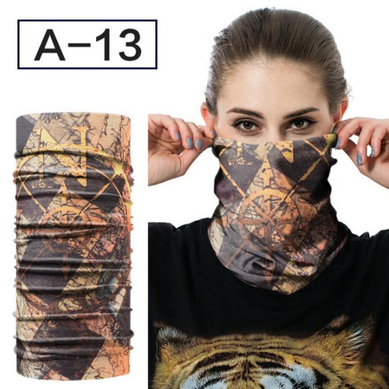 Unisex Tube Scarf Bandana Head Face Masks Neck Gaiter Snood Headwear