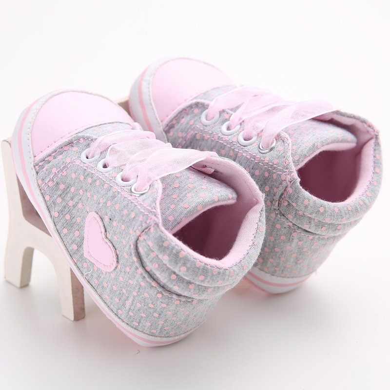 Newborn Baby Sport Shoes Infant Girls High Top Sneakers Todd