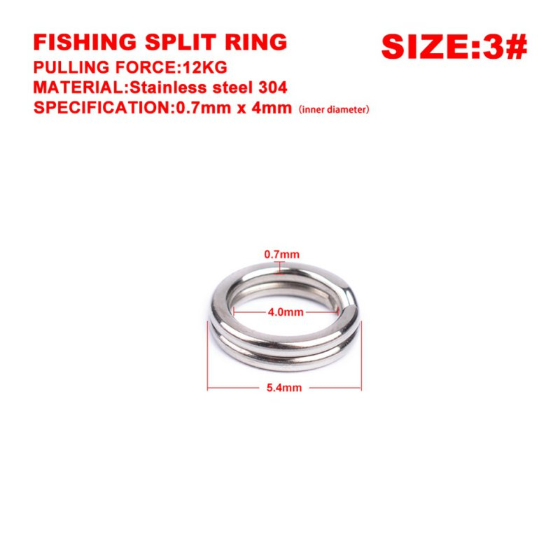 US-100pcs-Lot-Flat-304-Stainless-Steel-Fish-Fishing-Split-Rings-For-Lures-Hooks thumbnail 8