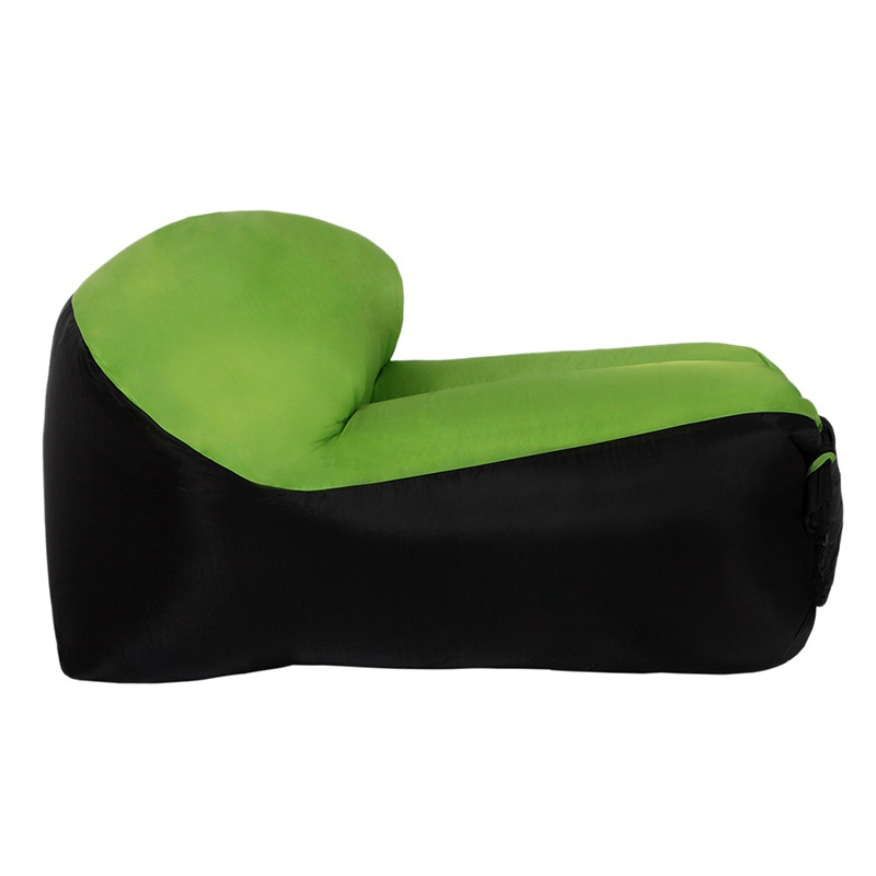 Air Sofa Camping: Inflatable Air Sofa Bed Lazy Sleeping Camping Bag Beach