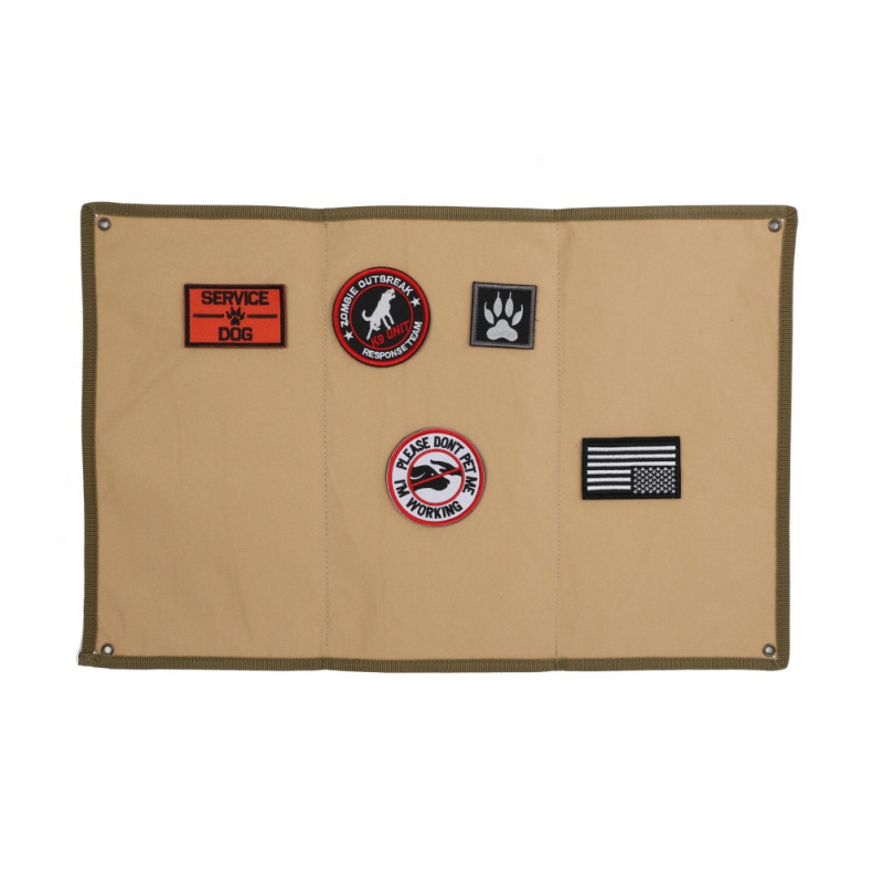 Reusable Tactical Patch Board Holder Hanging Folding Mat Badge Display Pad UK