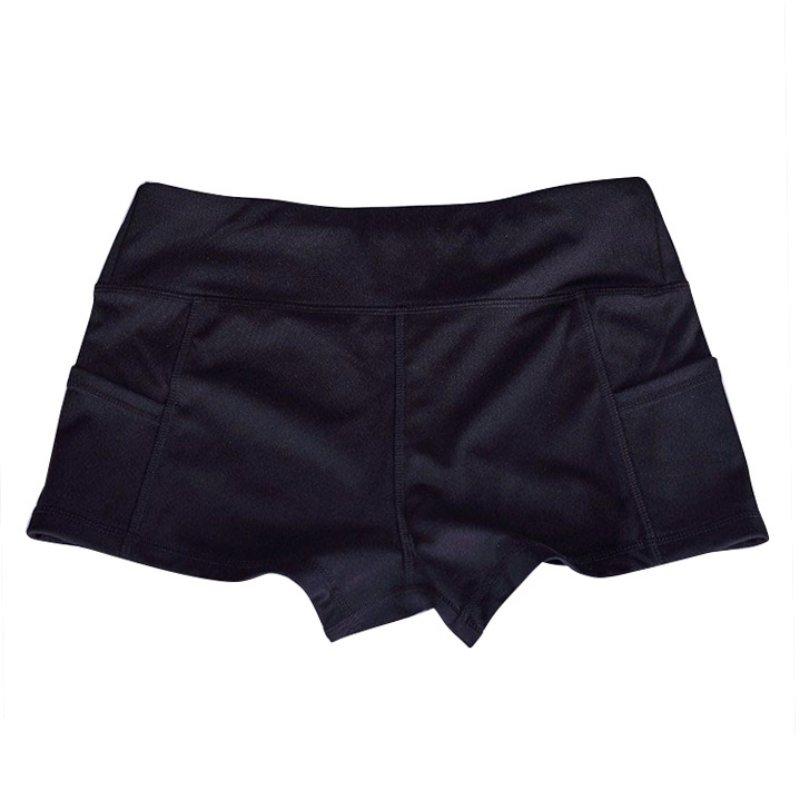 Women Sports Fitness Athletic Gym Yoga Leggings Shorts ...