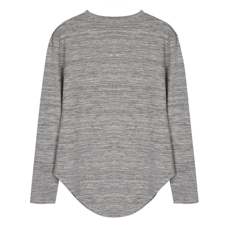 Men-Long-Sleeve-Oversize-Street-T-shirt-Hip-Hop-Club-Baggy-Extend-Blouse-Shirt