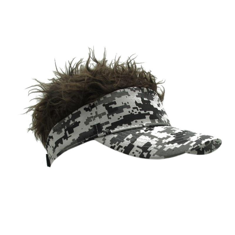 Fashion Unique Mens Flair Hair Visor Casquette Hat Sun