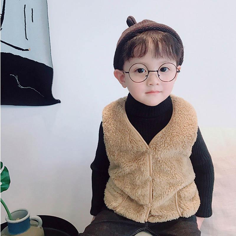 ac9d3ff1f UK Kids Baby Girl Winter Warm Faux Fur Vest Hoodies Coat Clothes ...