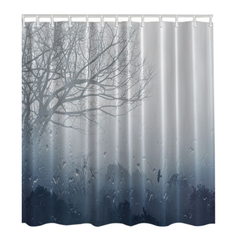 US Home Waterproof Bathroom Shower Curtain Fabric Animal Printing ...