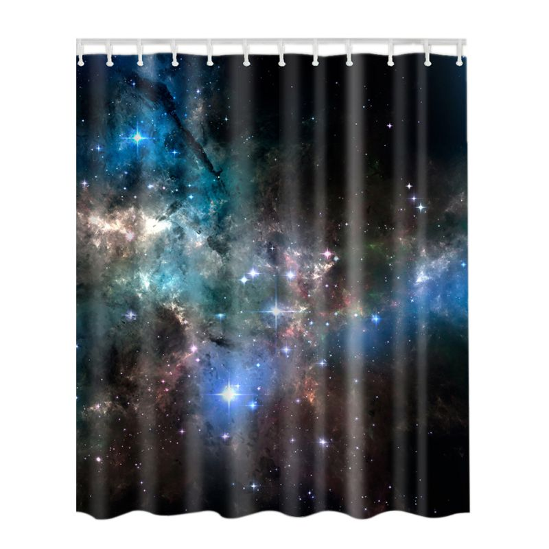 Fabric Waterproof Bath Bathroom Shower Curtain Animals Printing Bath Curtain New Ebay