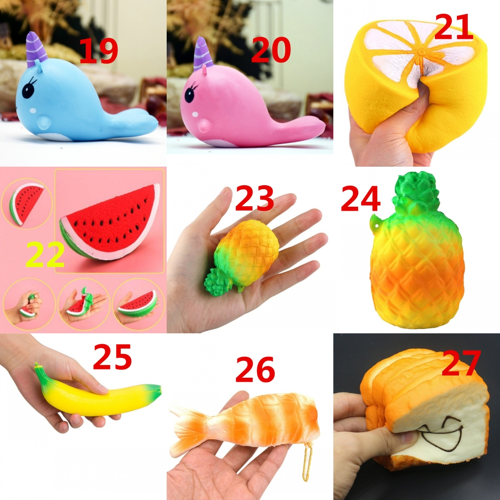 jumbo slow rising squishies scented squishy squeeze animal toy kid birthday gift