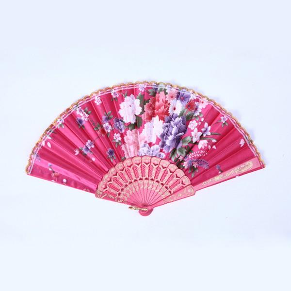 Chinese-Hand-Held-Floral-Lace-Silk-Folding-Fan-Unisex-Wedding-Dancing-Party-Fan
