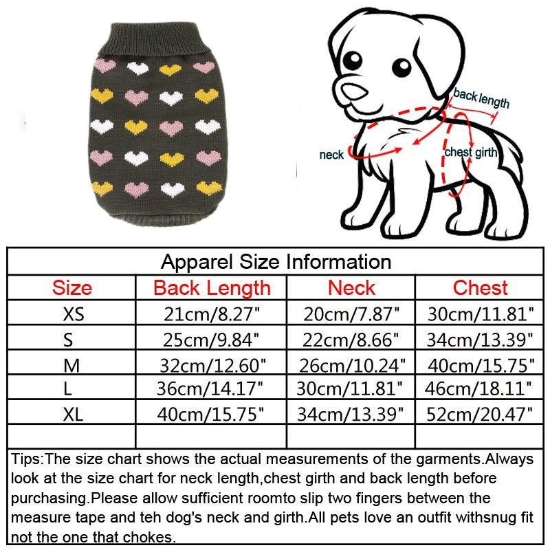 Puppy-Pet-Dog-Cat-Hoodie-Winter-Warm-Sweater-Coat-Costume-Apparel-Clothes-New thumbnail 47