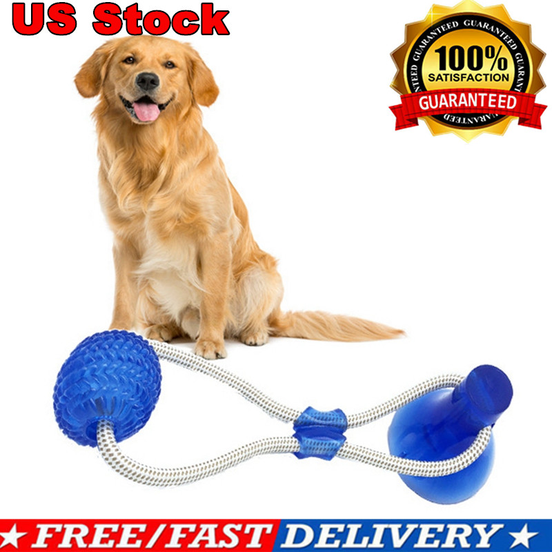 Dog Floor Suction Cup Toy with Ball for Cat Pet Teeth Cleani
