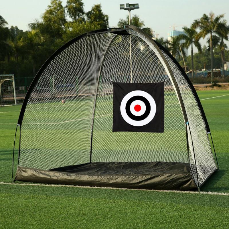 Folding Golf Practice Net Hitting-Nets Indoor Outdoor ...