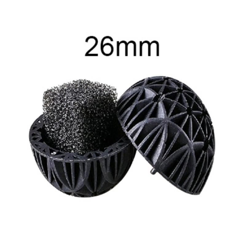 100pcs-Aquarium-Bio-Ball-w-Sponge-Filter-Media-Bag-Wet-Dry-Koi-Fish-Pond-Reef-UK