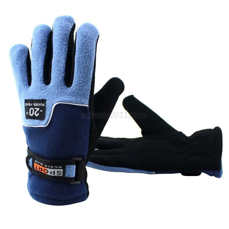 Winter Warm Cycling Gloves Waterproof Outdoor Skiing