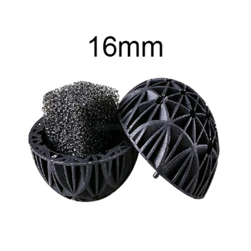 100pcs aquarium bio balls sponge filter media bag wet dry for Koi fish filter