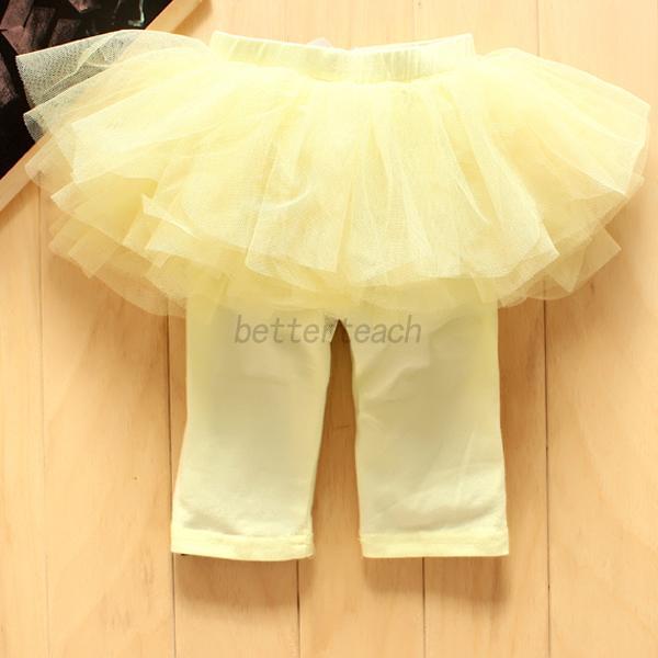 Stylish-Infant-Baby-Kids-Girl-Net-Yarn-Bow-Tutu-Dress-Party-Skirt-Culottes-Pants
